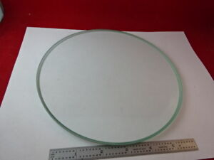 Large Glass Stage Table Beveled Stereo Microscope Part As Is f3 a 12
