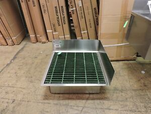 S g Stainless Steel Commercial Floor Mop Sink