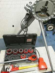 Ridgid 270 Pipe Threader Set 6 Heads 12r