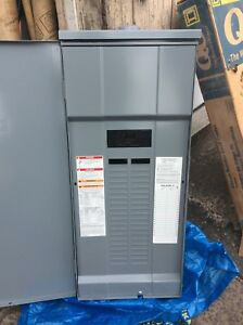 Square D Circuit Breaker Load Center Outdoor 200a 40 Spaces 86813 40 Circuit