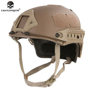 Emerson Tactical Fast Helmet CP Style AF Helmet w Shroud Protective Military