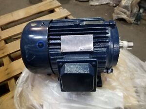 North American Electric Three Phase Induction Motor Pe184t 5 4c 5hp 184t Frame