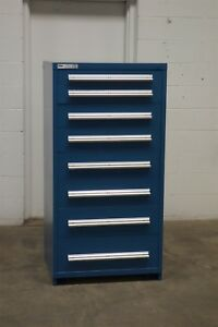 Used Vidmar 8 Drawer Cabinet Industrial Tool Storage 712 Shop