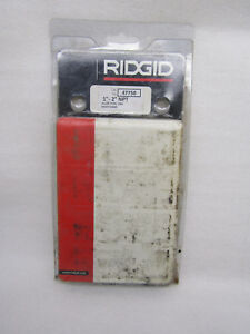 Ridgid 47750 1 2 Alloy Steel Universal Right Hand Die Head
