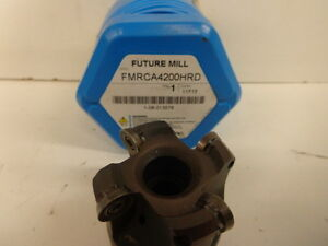 Korloy 2 Indexable Face Mill 3 4 Arbor Fmrca4200hrd Stk15481q