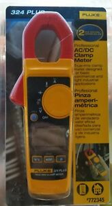 New Fluke Digital 600 volt Clamp Meter True Rms Ac Dc Amp Ohm Multimeter Tester