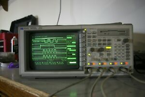 Hp 54540a 500 Mhz 2gsa s 4 Channel Real time Dso Digital Storage Oscilloscope