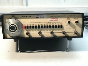 Wavetek Model 182a 4 Mhz Function Generator