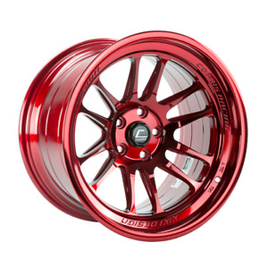 Cosmis Racing Xt206r 18x9 5 10 18x11 8 5x114 3 Hyper Red Staggered set Of 4