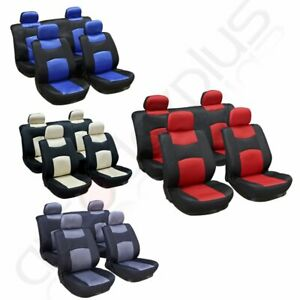 10pcs Universal New Washable 4mm Car Seat Covers W Headrest Covers For Ford