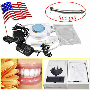 Dental Ultrasonic Piezo Scaler Fit Ems woodpecker With Led E generator Handpiece