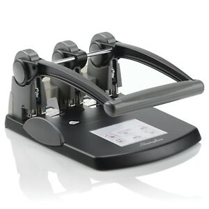 Swingline A7074194 Extra High Capacity 3 hole Punch Fixed Centers 300 Sheets