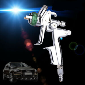 Et 1000b Gravity Spray Gun Hvlp Car Air Paint Gun With 1 3mm Nozzle 600cc Cup