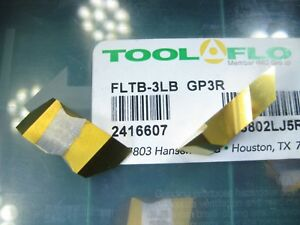 Box 9 Pcs Tool Flo Fltb 3lb Gp3r Threading Turning Lathe Carbide Insert Tool