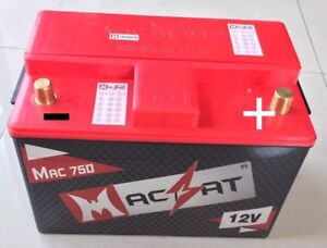 Macbat Super Capacitor Battery Combination 12 Volts Gas Diesel Vehicles 600 Cca