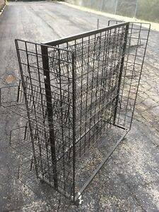 Large Store Merchandise Display Rack Dvds Game Or Other Goods