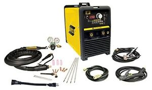 New Esab Et 186i Ac dc Tig Stick Welder Package W out Foot Control w1006301