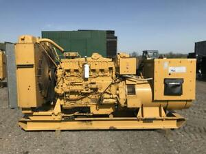 _350 Kw Cat Generator Set 12 Lead Reconnectable 1 3 Phase 480 Volts Low H
