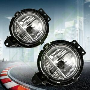 Replace Fog Light With Clear Lens For 2007 2015 Mini Cooper Right Left Side