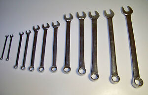 Snap On Tools 12 Wrench Lot Set Oex Free Shipping