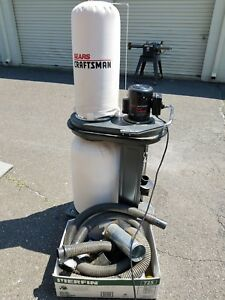 Craftsman 113 299780 Dust Collector 115 V 1 Hp W 60 Of 4 Dust Collection Hose