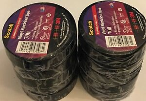 3m Scotch 3 4 In X 66 Ft 700 Vinyl Electrical Tape case Of 10