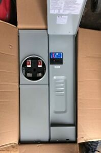 Eaton Combination Load Center meter Socket 200 Amp 4 Space For Additional Loads