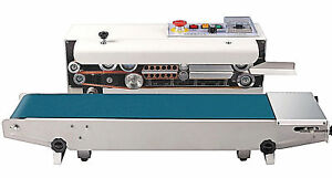 Fr900s Horizontal Stainless Steel Continuous Band Sealer Embosser