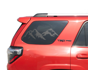 Mountain Decal Set 2010 2018 Toyota 4runner Trd Pro Limited Rear Windows Tf12