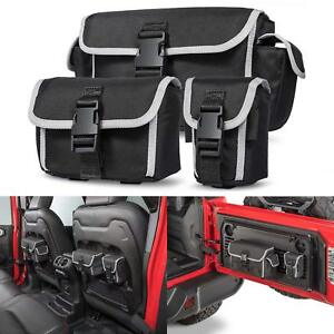 Car Backseat Storage Bag Tailgate Organizer For Jeep Wrangler Jl jlu Rubicon