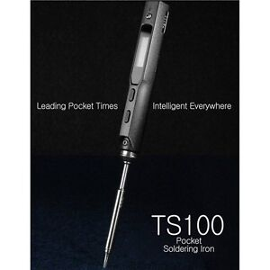 Soldering Ts100 Digital Lcd Iron Tip Replacement Solder 1 X Original Bc2 B2 New