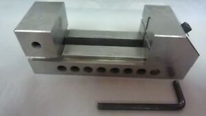 Screwless Toolmaker Grinding Ground Vise 2 x2 x6 3 Capacity