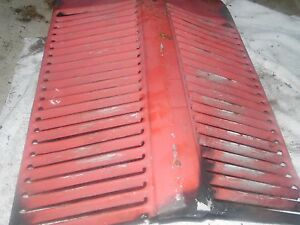 1951 Ferguson To 20 Tractor Serial 40687 Front Grill