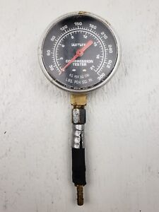 Vintage Sun Electric Corporation Suntune Engine Compression Tester Gauge