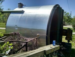 3900 Gallon Stainless Steel Mix Tank