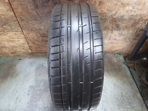 1 225 40 19 93y Continental Extreme Contact Dw Tire 7 32 No Repairs 2412