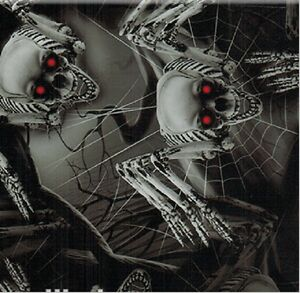 Water Transfer Hydrographic Film Hydro Dip Hydro dipping Spider Skulls 1m