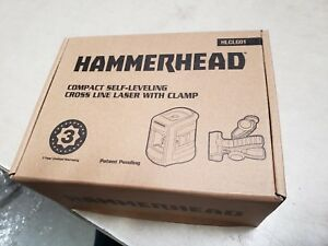 Hammerhead Hlclg01 Green Beam Compact Self leveling Cross Line Laser New