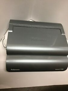 Fellowes Quasar E 500 E500 Electric Plastic Comb Binding Machine
