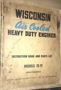 1940s Rare Wisconsin Engine Booklets One Dozen Twelve Farm Tractor Motor