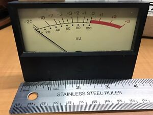 4 Simpson Vintage Vu Audio Meter For Scully Reel Or Other