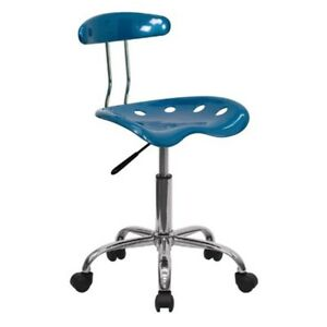 Adjustable Work Shop Stool Chair Swivel Bench Mechanics Rolling Garage Seat New