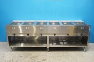 Eagle Group 6 Well Natural Gas Steam Table Model Ht60b ng