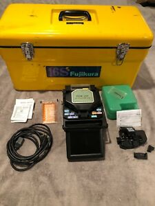 Fujikura Fsm 16s Arc Fusion Splicer With Box Included Items As Seen In Photo