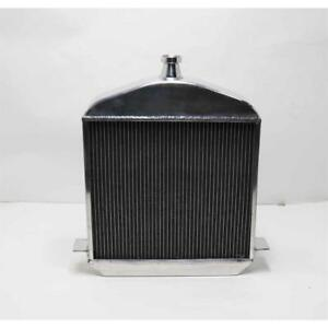 Speedway 1917 1923 T Bucket Polished Aluminum Radiator Chevy Outl