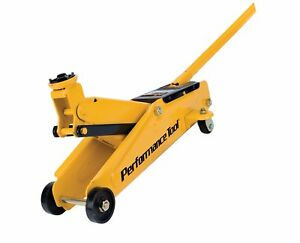 Performance Tool W1614 2 Ton 4 000 Lbs Capacity Floor Jack Heavy Duty