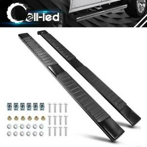 6 Running Boards For 2007 2018 Chevy Silverado Extended Cab Nerf Bars Side Step