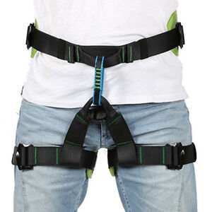 Protect Waist Safety Harness Wider Half Body Harness For Tree rock Climbing