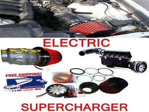 Fit For Volvo Saab Performance Electric Air Intake Supercharger Fan Motor Kit