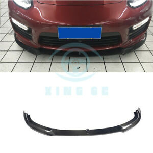 Carbon Fiber Front Bumper Lip Bodykit For Porsche Panamera Gts Turbo S 14 16
